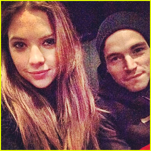Ashley Benson & Ian Harding See Keegan Allen's 'Small Engine Repair'