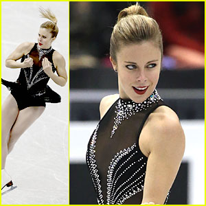 Ashley Wagner: Third After Short Program at Grand Prix Final