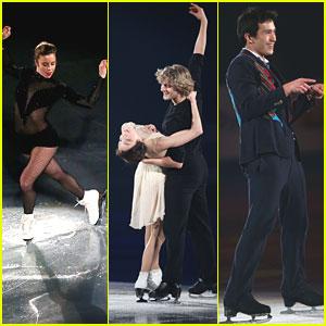 Ashley Wagner & Patrick Chan: ISU Gala 2013