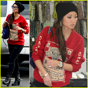 Brenda Song: Car Wash Wednesday