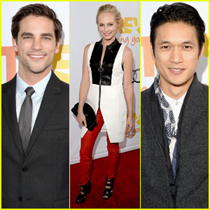 Candice Accola & Brant Daugherty: TrevorLIVE LA with Harry Shum, Jr.