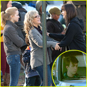 Hailee Steinfeld & Thomas Mann: 'Barely Lethal' Filming in Atlanta