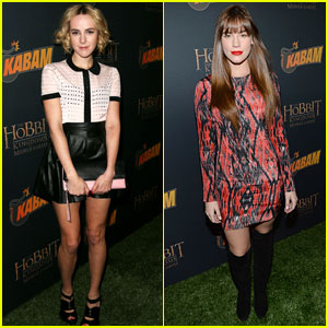 Jena Malone & Christa B. Allen: 'The Hobbit: The Desolation of Smaug' Game Launch