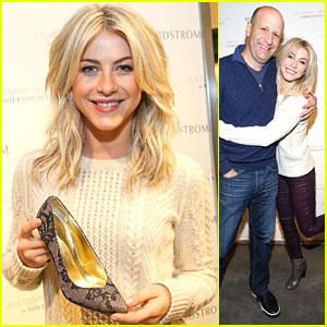 Julianne Hough: Sole Society Event at South Coast Plaza