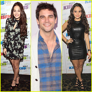 Madison Pettis, Kelli Berglund & Brant Daugherty: KIIS FM Jingle Ball 2013