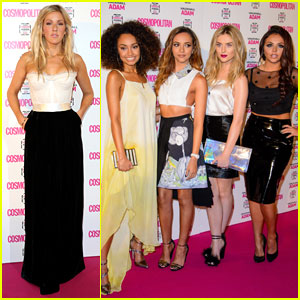Little Mix & Ellie Goulding: 'Cosmopolitan' Women of the Year Awards 2013