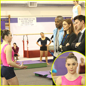 McKayla Maroney on 'Bones' - See The Pics!