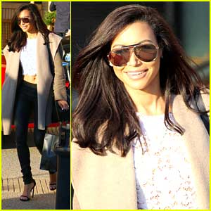 Naya Rivera Shares Winter Beauty Tips