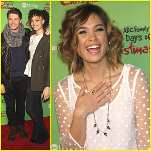 Nicole Anderson: 'Ravenswood' Cast at ABC Family's Winter Wonderland Event