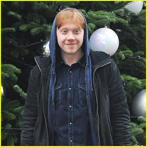 Rupert Grint: Starlight Christmas Party at 10 Downing Street