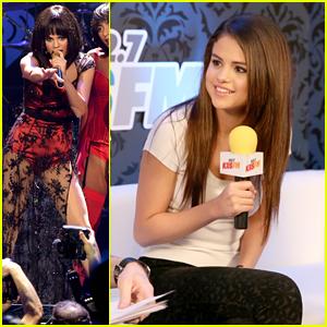 Selena Gomez: KIIS FM's Jingle Ball 2013 Backstage & Performance Pics!
