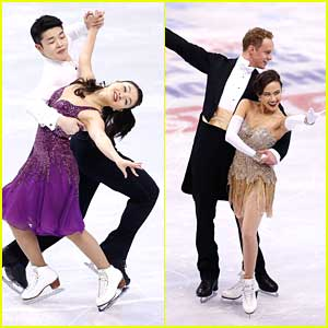 Alex & Maia Shibutani Placed 3rd at US Nationals with Madison Chock & Evan Bates, 2nd.