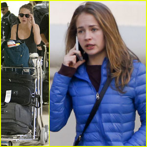 Britt Robertson: 'Tomorrowland' Set in Spain!