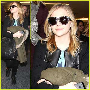 Chloe Moretz: Back in L.A. After Sundance