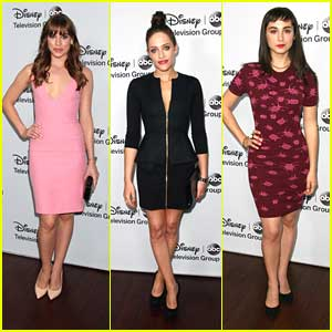 Christa B. Allen: ABC TCA Tour Party with Carly Chaikin & Molly Ephraim