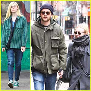 Dakota & Elle Fanning: Separate Coasts, Separate Outings