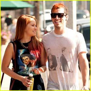 Debby Ryan & Joshua Dun: Pressed Juicery Pair