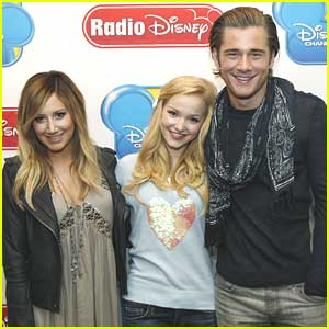 Dove Cameron & Ashley Tisdale: Radio Disney Take Over Today!
