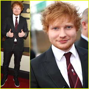 Ed Sheeran - Grammys 2014 Red Carpet
