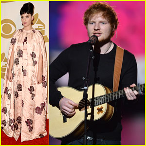 Ed Sheeran & Katy Perry: Grammys Beatles Salute