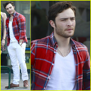Ed Westwick Wraps 'Conspiracy on Jekyll Island'