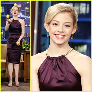 Gracie Gold Juggles For Jay Leno