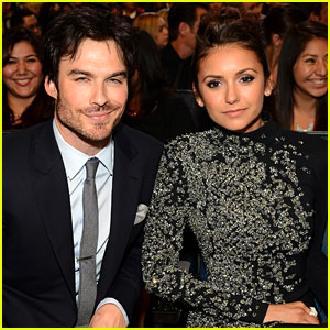Ian Somerhalder & Nina Dobrev: Favorite On-Screen Chemistry at People's Choice 2014!