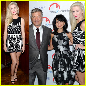 Ireland Baldwin: Inspire Gala 2014 with Dad Alec!