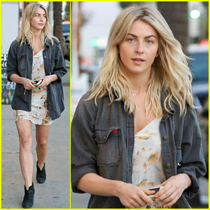 Julianne Hough: Post-Workout Shopping Spree