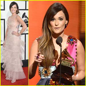 Kacey Musgraves WINS Best Country Album at Grammys 2014