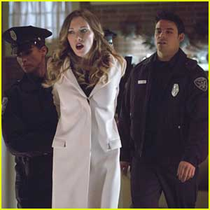 Katie Cassidy: Arrested on 'Arrow'!