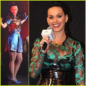 Katy Perry: Infiniti Brand Festival Performance Pics!