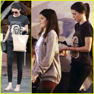 Kendall & Kylie Jenner Step Out Before 'Keeping Up' Premiere