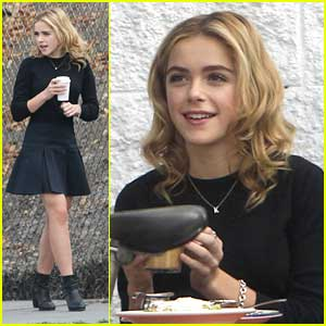 Kiernan Shipka: Sunday Morning Outing