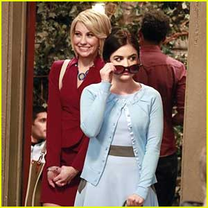 Sneak Peek Lucy Hale on 'Baby Daddy'!!!