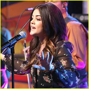 Lucy Hale: 'You Sound Good To Me' on GMA - Watch Now!