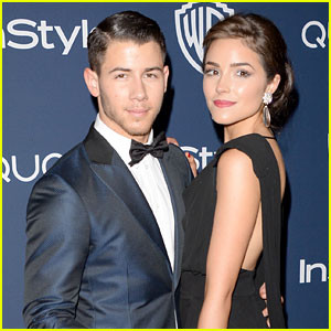 Nick Jonas & Olivia Culpo: InStyle Golden Globes 2014 Party Pair!
