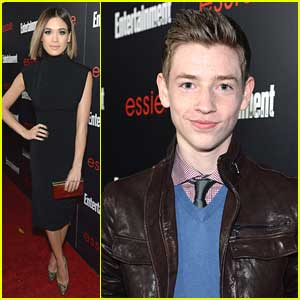 Nicole Anderson & Jackson Pace: Entertainment Weekly's SAG Party