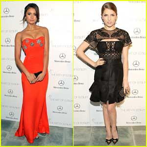 Nina Dobrev & Anna Kendrick: Art of Elysium's 7th Annual HEAVEN Gala