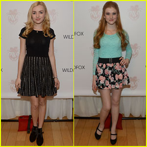 Peyton List & Katherine McNamara: 'Wildfox' Spring 2014 Launch Party