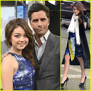 Sarah Hyland: 'Vampire Academy' Talk on 'GMA'!