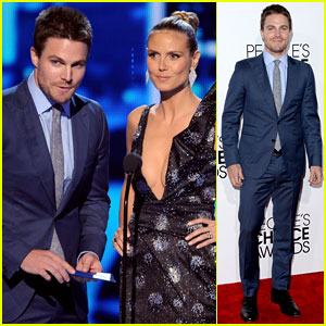 Stephen Amell - People's Choice Awards 2014