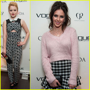 Taylor Spreitler & Ryan Newman: CFDA Vogue Eyewear Launch Party
