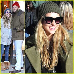 Teresa Palmer & Mark Webber: Park City Pair