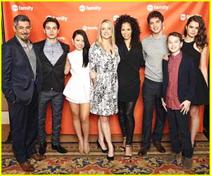 Maia Mitchell: 'The Fosters' TCA Tour Stop with Cierra Ramirez