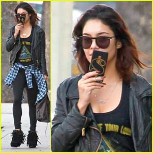 Vanessa Hudgens Loses Herself in Music