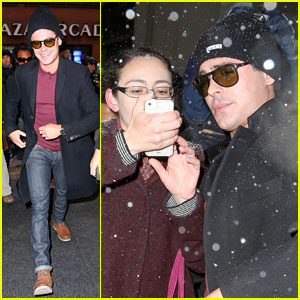 Zac Efron: Snowy 'Today Show' Stop!