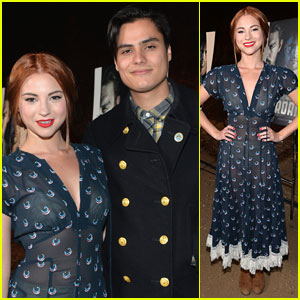Allie Gonino Attends 'The Red Road' Screening with Kiowa Gordon