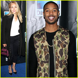AnnaSophia Robb & Michael B. Jordan: Super Saturday Party Pics!