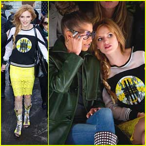 Bella Thorne & Zendaya: Rebecca Minkoff Front Row Friends